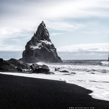 Reynisfjara Black Sand Beach (Iceland)