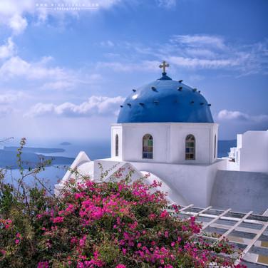Colores de Santorini