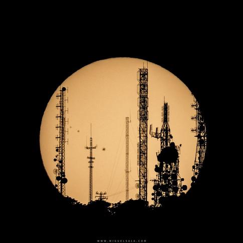 El Sol y las telecomunicaciones