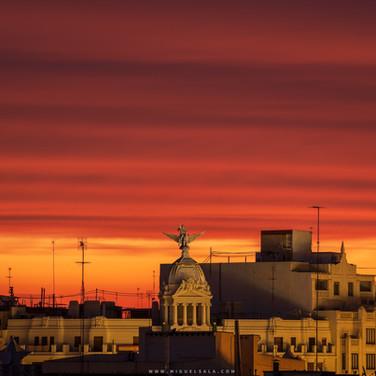 Sunrise in Valencia (Spain)