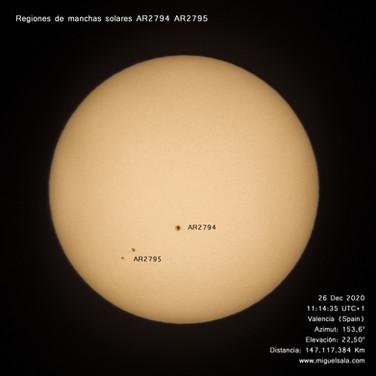 El Sol, 26 diciembre 2020