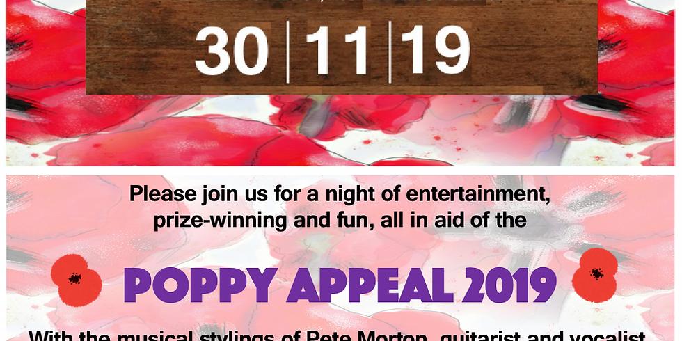 Poppy Night Fundraiser