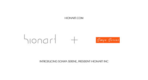 INTRODUCING SONYA SERENE, PRESIDENT HION