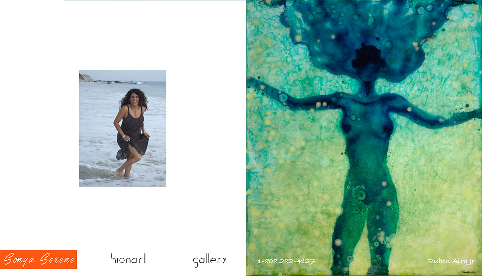 sonya serene #1 hionart gallery ruben ai
