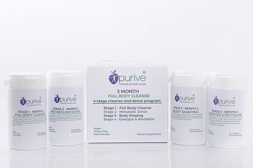 Purive 90 Day Detoxification Program