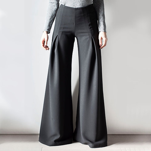 Pantaloni a zampa Blondinette Chic