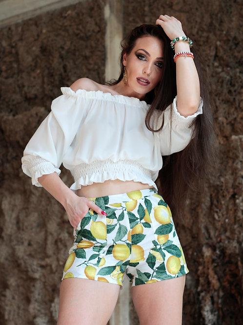 BLONDINETTE DESIGN _ Lemon Shorts