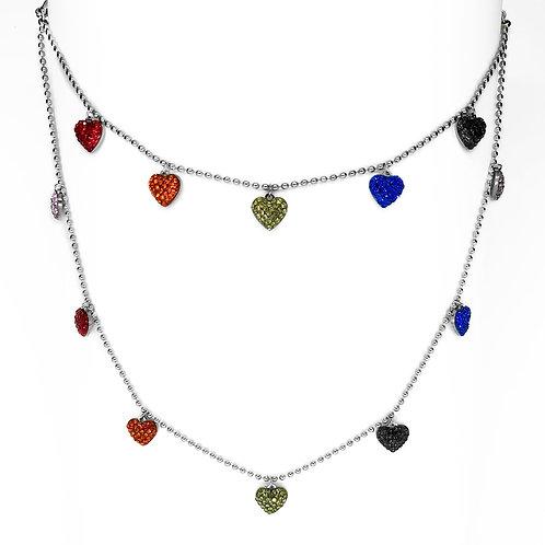 Set braccialetto e collana Blondinette Miracle