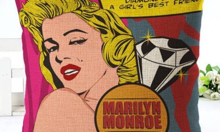 Cojín «Marilyn dice una gran verdad»