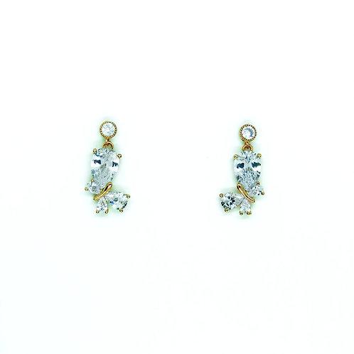 Orecchini Blondinette Crystal Butterfly