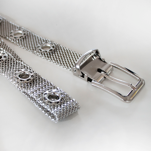 Cintura Metallic Argento