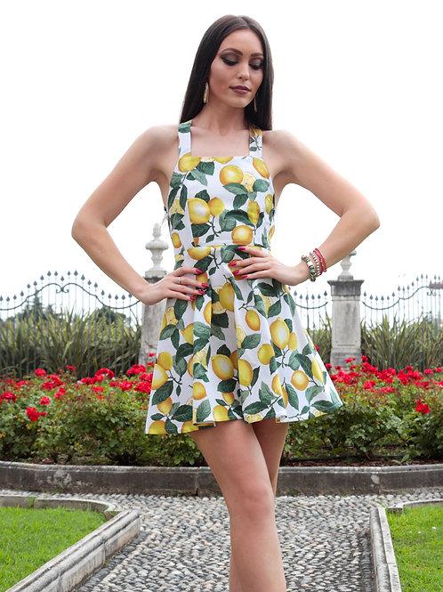 BLONDINETTE DESIGN _ Lemon dress