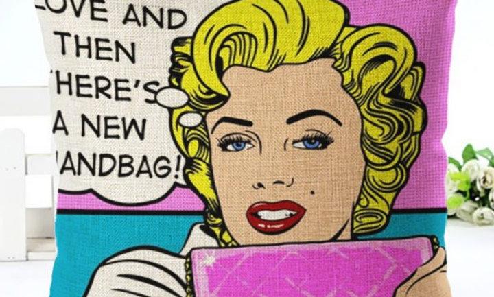 Cojín «Marilyn dice la mayor verdad»