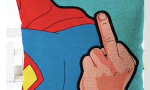 Cojín Superman grosero