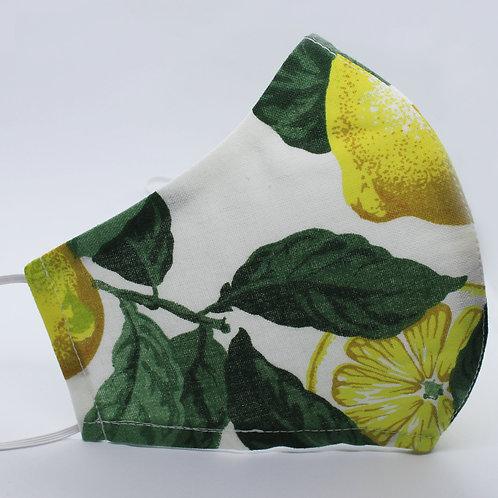 Mascherina in tessuto riutilizzabile Blondinette Lemon