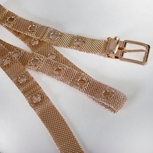 Cintura Metallic Oro