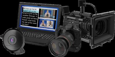 Dejero app supports a laptop's internal camera