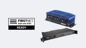 Dejero GateWay Network Aggregation Devices Now FirstNet Ready™ Delivering Reliable Communications So