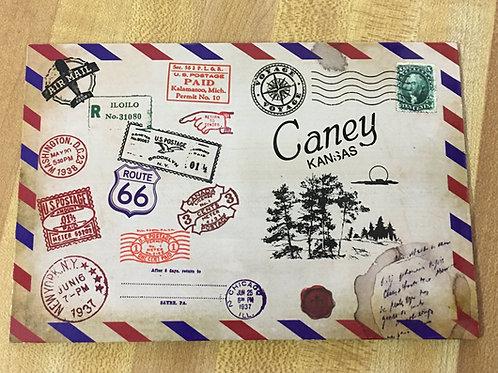 Vintage mailable & magnetic postcard