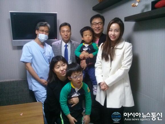 새터민가정 7살 쌍둥이 무료 수술