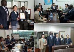 중앙아프리카 대통령특사 한국방문