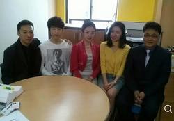 중국CCTV 한국방송 개국 1주년 촬영 후