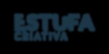 logotipo - estufa criativa_azul petroleo