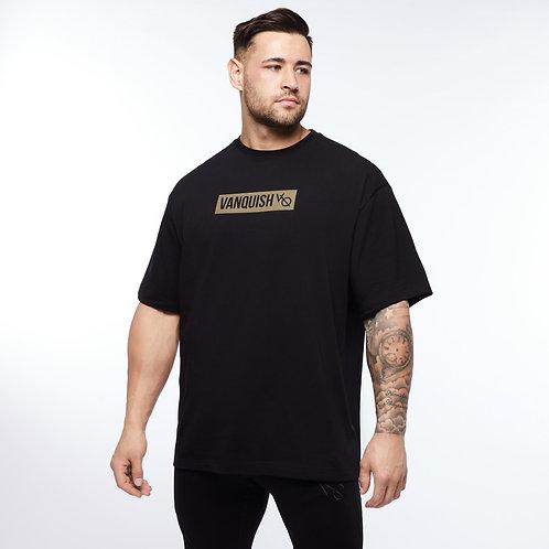 Футболка VQ  BOX LOGO Oversized Shirts