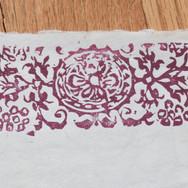 Linoleum cut print