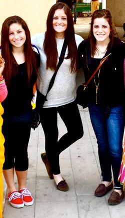 Kathryn, Erica and Alexandra Schmidt