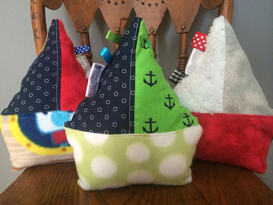 Squeaky Sailboat Toys