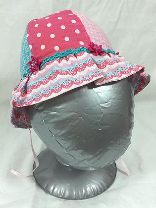 "Spring"" Sun Hat, Size 18m0s"