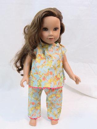 """18"""" Doll PJ Set"""