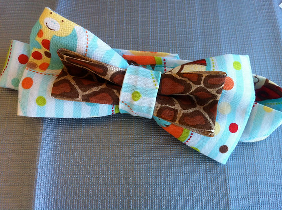 Zoo Animal Toddler Bow Tie