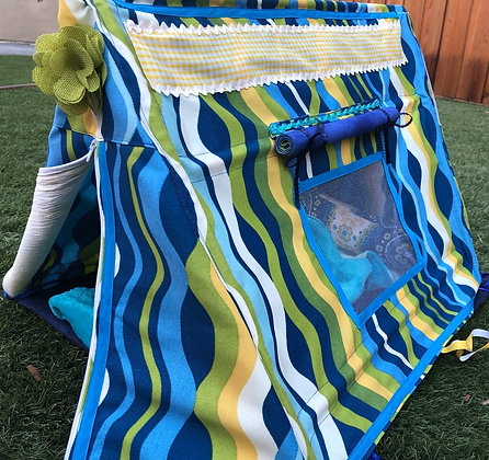 "18"" Doll Play Tent with Sleeping Bag"