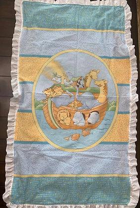 Noah's Ark Toddler Blanket