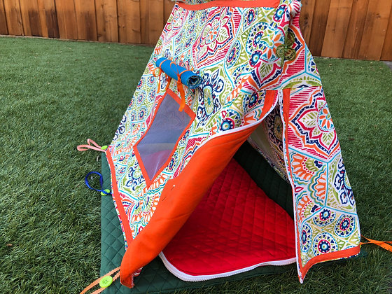 """18"""" Doll Play Tent with Sleeping Bag"""