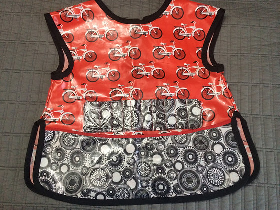 """Bicycles"" Art Smock, Size 7"