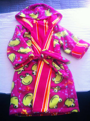 Frog Robe, Size 4T