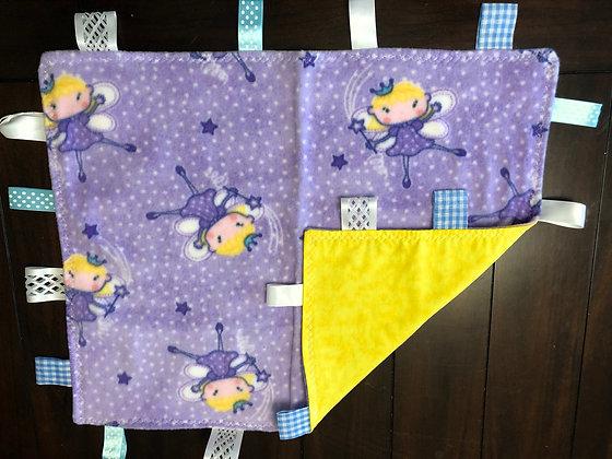 """Fairies"" Baby Blanket"
