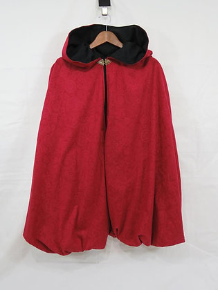 """Lil' Red Riding Hood"" Dress Up Cape, Size 12"