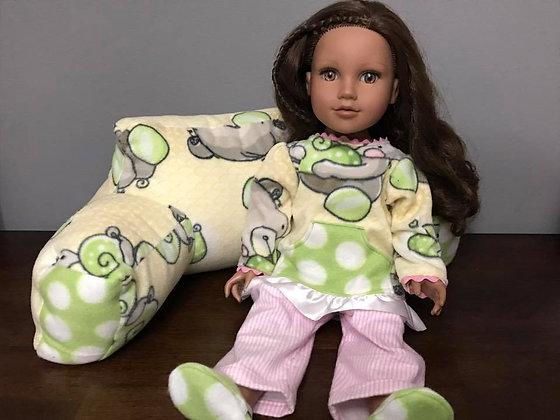 """Teddy Bears"" 18"" Doll PJ Set"
