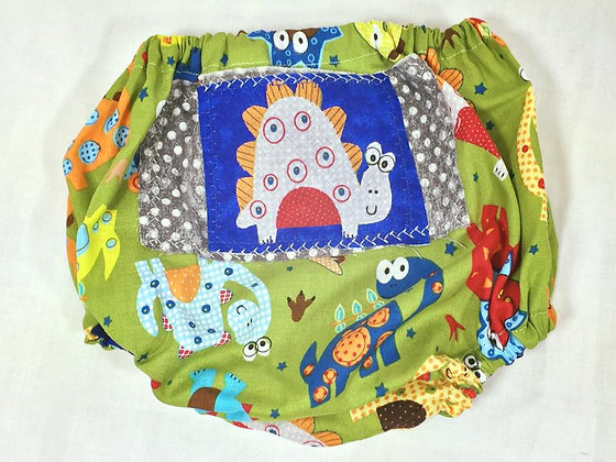 """Dinosaurs"" Diaper Cover, Size 18m0s"