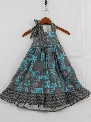 Long Summer Dress, Size 4T