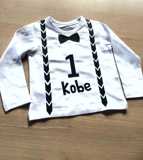 Vaak Eerste verjaardag-shirt #GG03