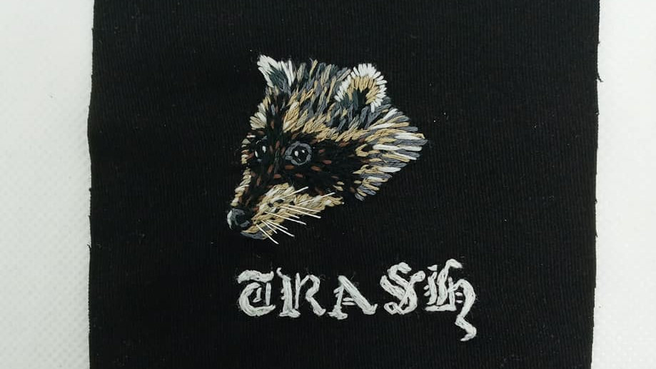 'Trash Raccoon' Patch by The SeaCat