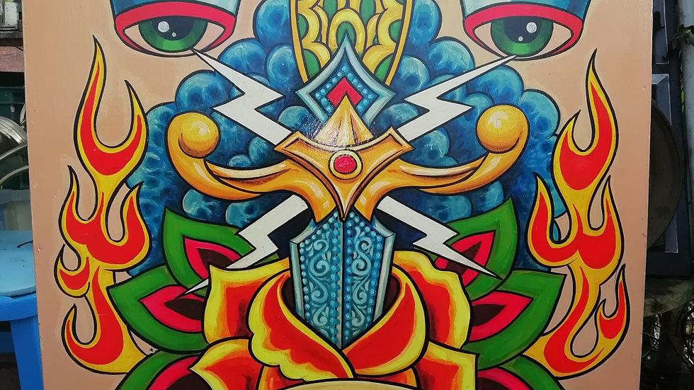 'Dagger Rose Eyes' by Dave Panit