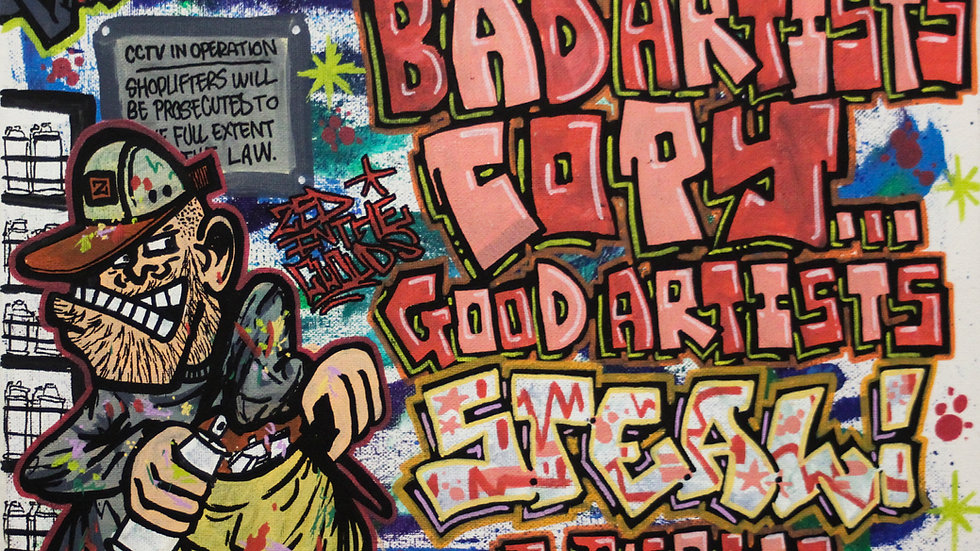 'Bad Artists' by Zed In The Clouds