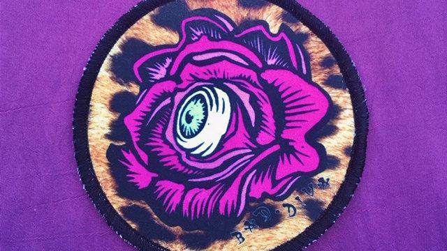 'Rose Vision' patch (leopard)