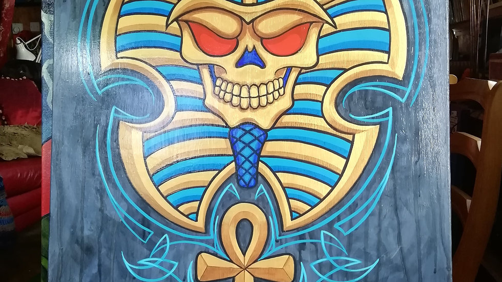 'Egyptian Skull' by Dave Panit